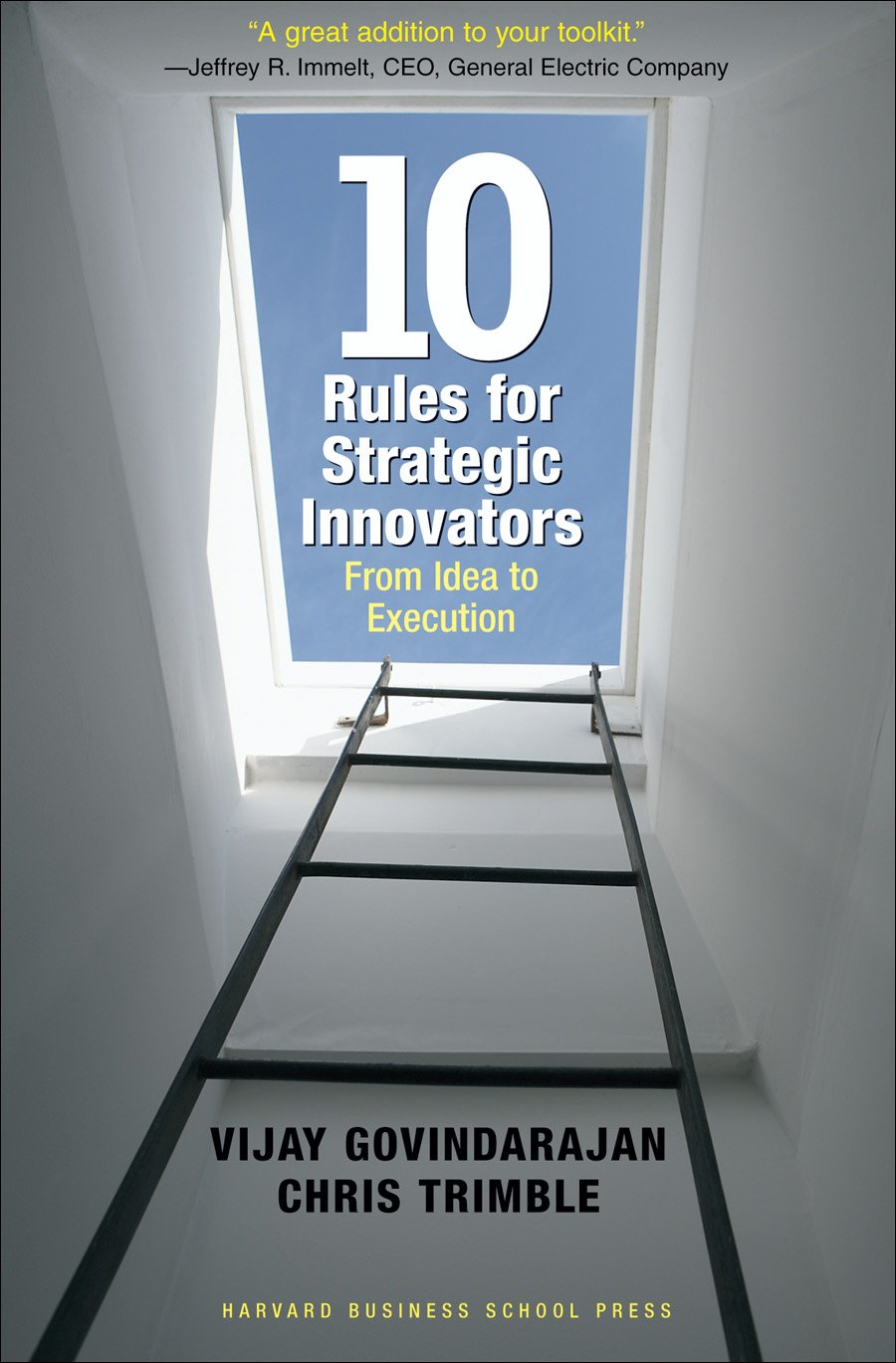 Livro 10 Rules for Strategic Innovators