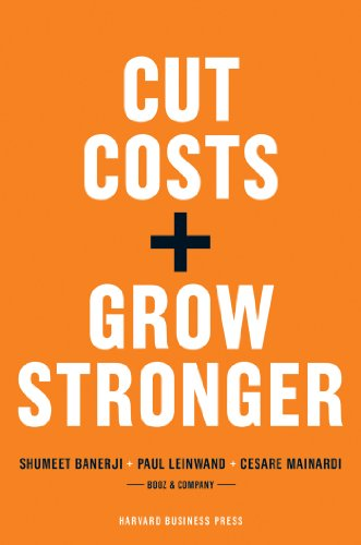 Livro Cut Costs and Grow Stronger