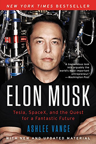 Livro Elon Musk: Tesla, SpaceX, and the Quest for a Fantastic Future