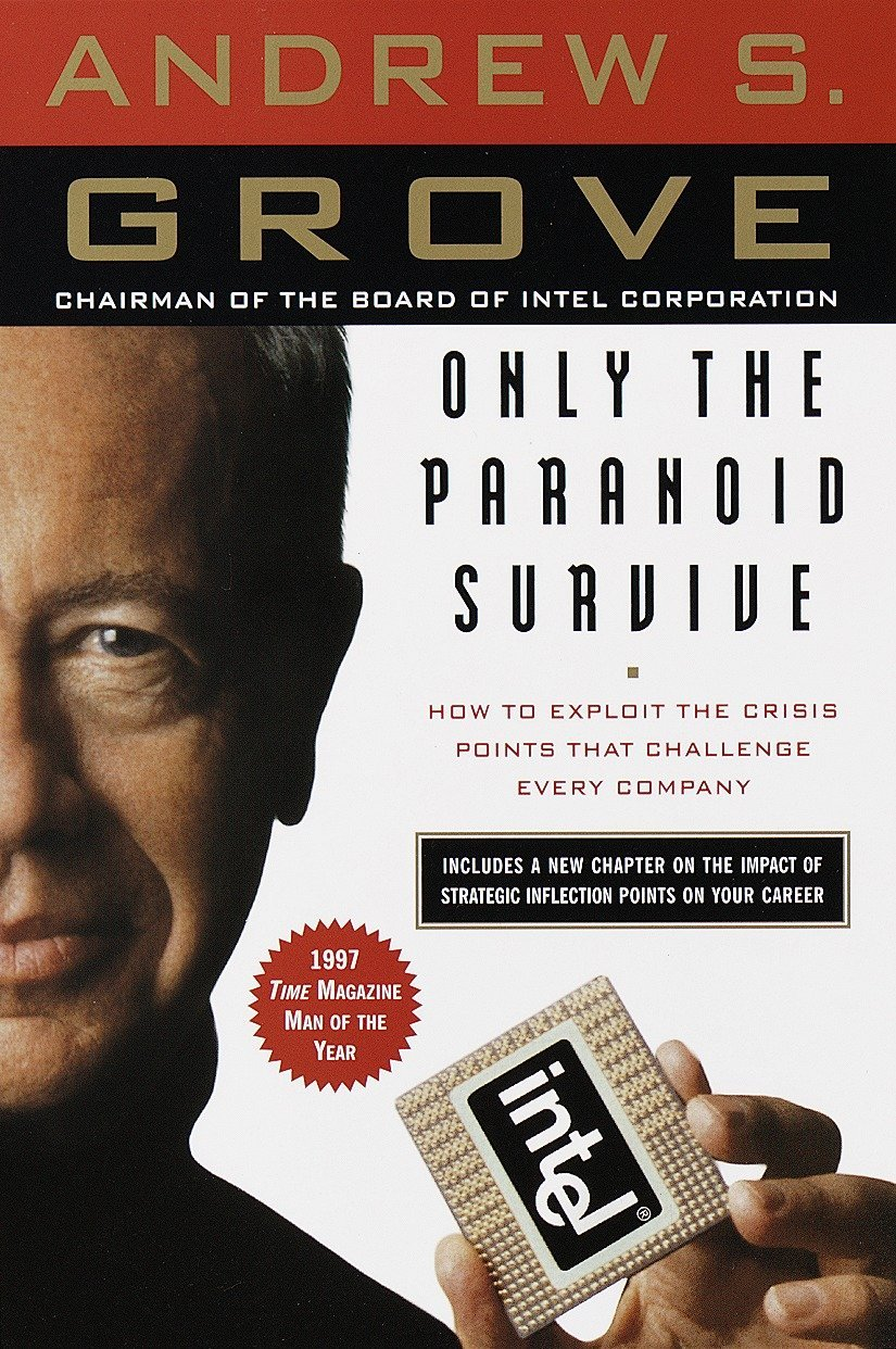 Livro Only The Paranoid Survive