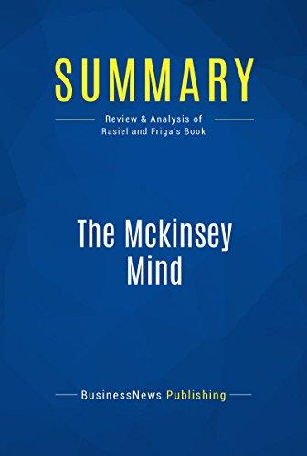 Livro Summary The McKinsey Mind