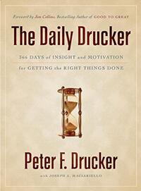 Livro The Daily Drucker