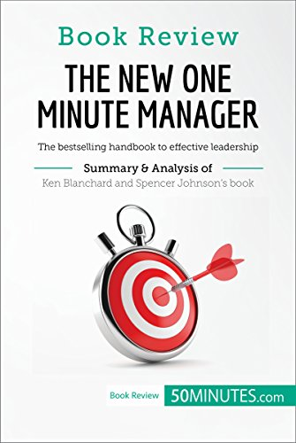 Livro The New One Minute Manager