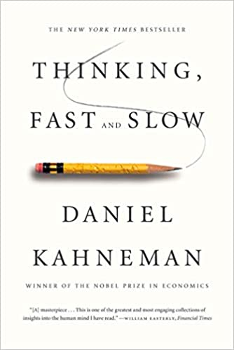 Livro Thinking, Fast and Slow